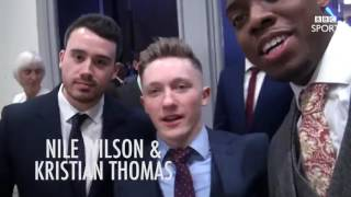 Lutalo Muhammad's brilliant vlog from Sports Personality