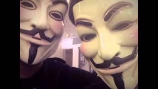 V For Vendetta Community Photo Op