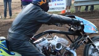 Motorcycle Dirt Drags Racing