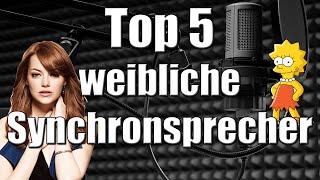 Top 5 - Synchronsprecherinnen