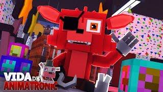 Minecraft: VIDA DE ANIMATRONIC #24 - BEBÊ FOXY ANIMATRONIC FOFINHO!! ( FIVE NIGHTS AT FREDDY'S )