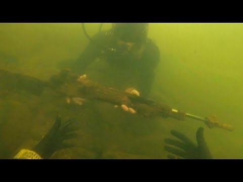 Found Assault Rifle Underwater in River While Scuba Diving Police Called