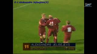 QWC 2002 San Marino vs. Latvia 0-1 (15.11.2000)