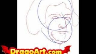 How to draw Thomas Jefferson, step by step