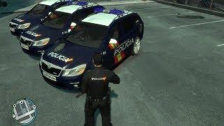 Mod GTA IV Policia Nacional -Parte 1-