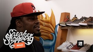 Marshawn Lynch Goes Sneaker Shopping With Complex