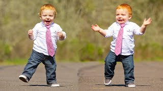 Funny Babies Wearing Shoes for the First Time Compilation
