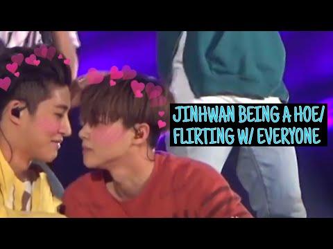 JINHWAN BEING A HOEFLIRTING WITH EVERYONE