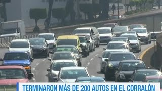 Al corralón 231 autos por no respetar el Hoy No Circula Video
