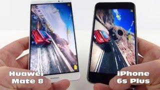 Huawei Mate 8 versus iPhone 6S Plus