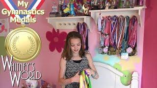 My Gymnastics Medals | New Bunk Bed! | Whitney Bjerken