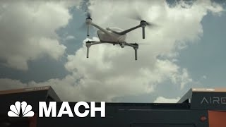 Airobotics Claims To Have Created The Most Advanced Drones Yet | Mach | NBC News