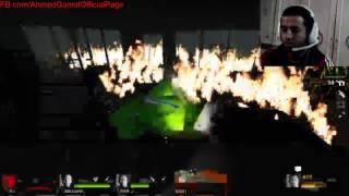 ◄بث مباشر► لعبة Left 4 Dead 2 جحيم فى النار مع الزومبى