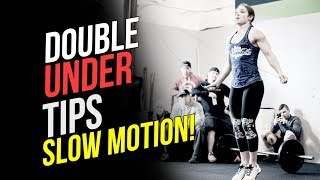 Double Unders Tips (SLOW MOTION)