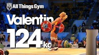 Lydia Valentin Perez 124kg Snatch Almaty 2014 World Championships