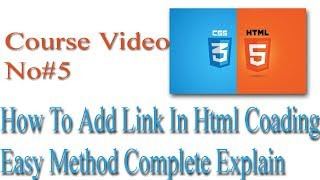 how to add links in html in hindi