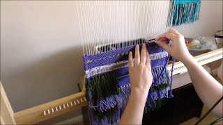 Weaving a Wall Hanging in Fast Foward