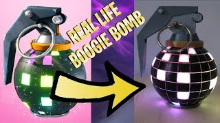 How To Boogie Bomb In Real Life | Fortnite Battle Royale
