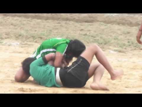 Raider & Catcher Best Fight 18 - FreeStyle Girls Kabaddi Tournament 2013 Match 01