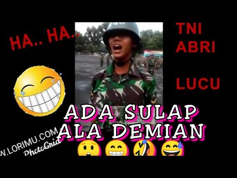 DO NOT FEAR ARMY, the funniest collection of silly combat, behavior, best funny of indonesian army