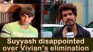 Suyyash Rai disappointed with Vivian Dsena