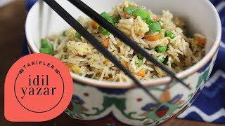 Çin Pilavı Nasıl Yapılır | Sebzeli Çin Pilavı Tarifi (Fried Rice) | İdil Yazar ile Yemek Tarifleri