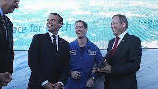 ابتكارات وطموحات لغزو الفضاء في معرض باريس للطيران - space