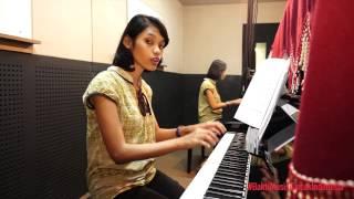 Belajar Piano : Teknik fingering dalam piano - Margareth Sally
