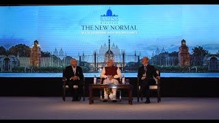 PM Modi at the opening session of 2nd Raisina Dialogue in New Delhi