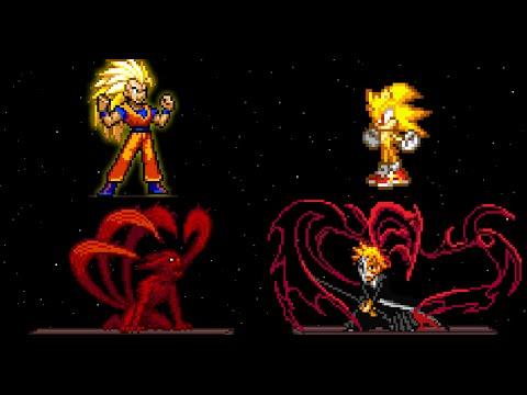 Super Smash Flash 2 v0.9b - All Final Smashes