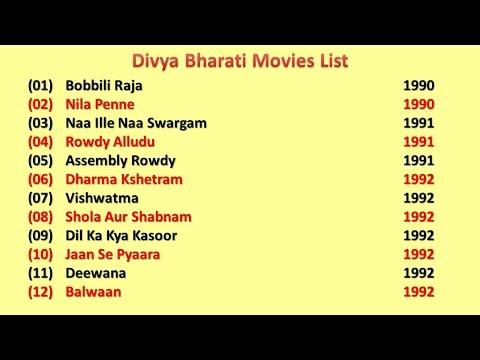 Xxx Mp4 Divya Bharti Movies List 3gp Sex