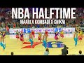 Exodus Artistry NBA HALFTIME  | Maari x Chikni Chameli x Kombadi Palali | Sixers vs Pistons