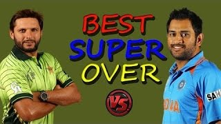 t20 world cup match super over India vs Pakistan