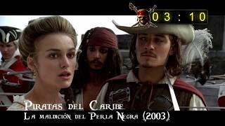 Todo 'Piratas del Caribe' en 4 minutos