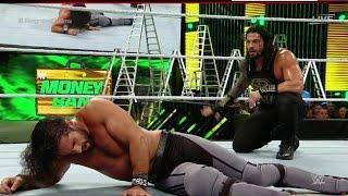 WWE 2K16: Roman Reigns VS Seth Rollins - (WWE World Heavyweight Championship) Gameplay