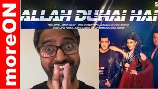 ALLAH DUHAI HAI SONG REACTION - RACE 3