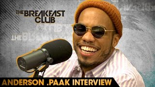 Anderson .Paak Interview With The Breakfast Club (7-28-16)