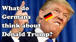 What do Germans think about Donald Trump? Is he the new Hitler? | Vlog #14