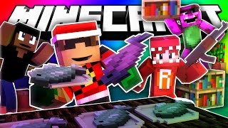 Minecraft Do Not Laugh | IT'S CHRISTMAS!