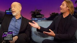 Josh Holloway & J.K. Simmons on Working with Arnold