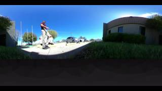360Fly 360° HD Video Camera - Outdoor Test