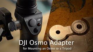 Machining an Adapter for a DJI Rosette Mount - CNC Project #91