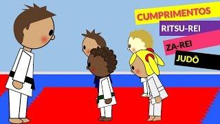Saudações e Cumprimentos no Judô (Judo Infantil) Ritsu-Rei Za-Rei | Judoquinhas