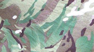 Camouflage Micro VS Macro patterns