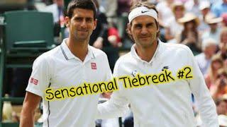Sensational Tiebreak #2 Federer vs Djokovic Wimbledon Final 2015