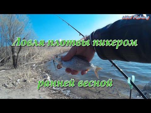 ловля плотвы сетями весной видео