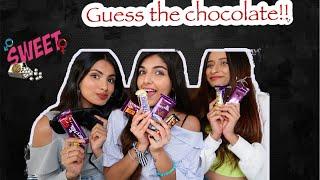 Guess the chocolate challenge!! FT. Aashna & Unnati   Ashi Khanna