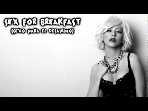 Christina Aguilera - Sex For Breakfast (Subtitulos en Español)