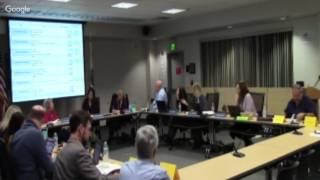 Sesión ordinaria de la Mesa Directiva de Educación del MUSD - 2/16/17