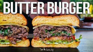 The Butter Burger (Juiciest Burger Ever!)   SAM THE COOKING GUY 4K